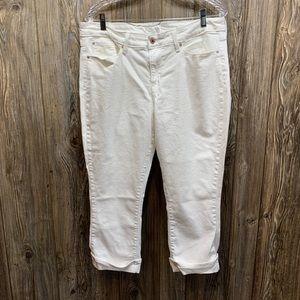 Signature Levi's  Strauss white jeans